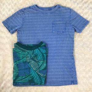 Cat & Jack Short Sleeve Shirt Bundle Boy's Medium